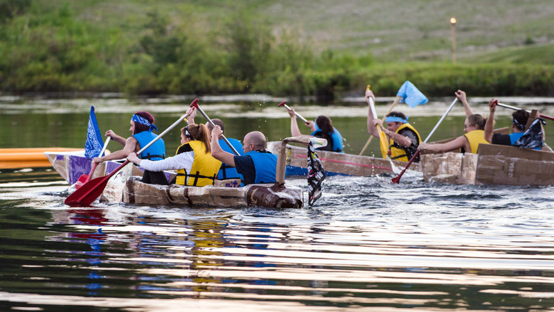 Deerhurst Resort-Teambuilding Build A Boat<br/>Image from Leonardo