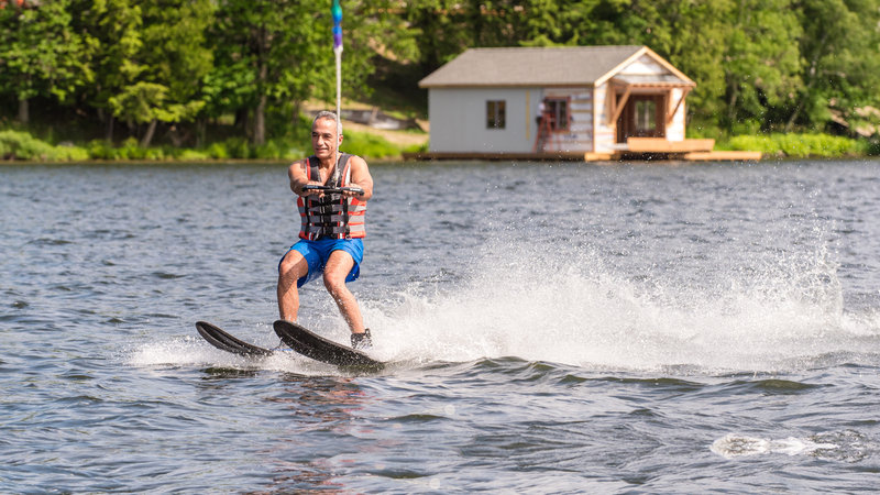 Deerhurst Resort-Waterskiing with Summer Water Sports<br/>Image from Leonardo