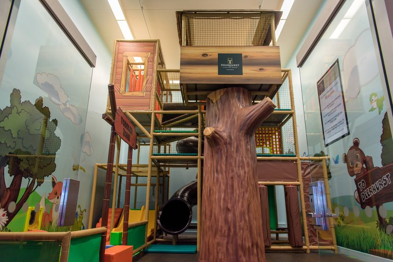 Deerhurst Resort-Indoor Treehouse Playspace<br/>Image from Leonardo