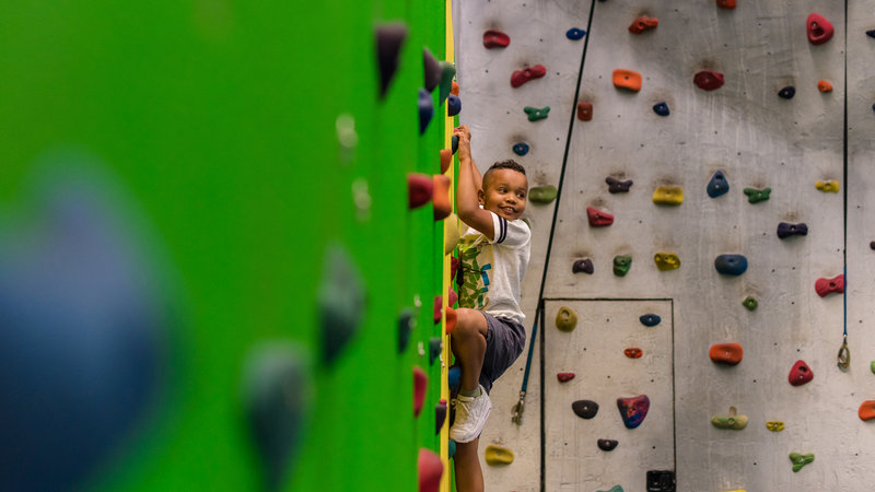 Deerhurst Resort-Indoor Rock Climbing<br/>Image from Leonardo