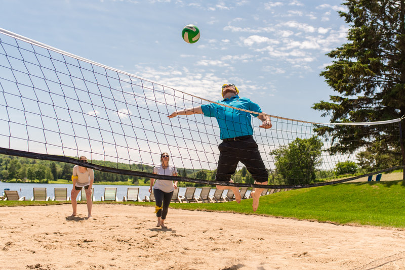 Deerhurst Resort-Beach Volleyball<br/>Image from Leonardo