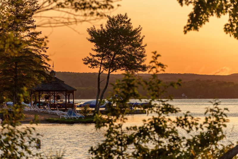 Deerhurst Resort-Beach<br/>Image from Leonardo