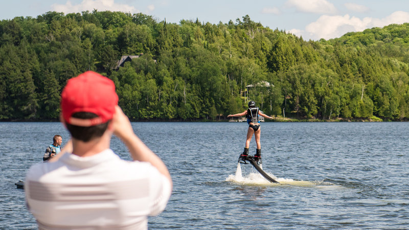 Deerhurst Resort-Flyboarding with Summer Water Sports<br/>Image from Leonardo