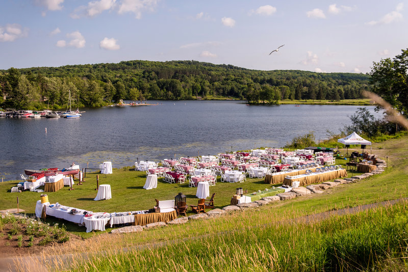 Deerhurst Resort-Group Event at Sunset Bay<br/>Image from Leonardo
