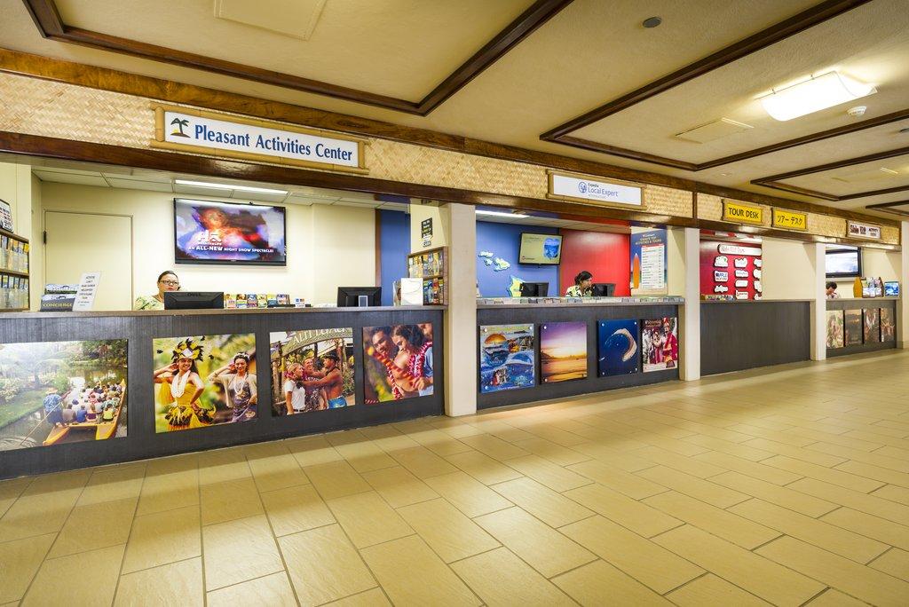 Aston Waikiki Beach Hotel - Activities and Tour Desk <br/>Image from Leonardo