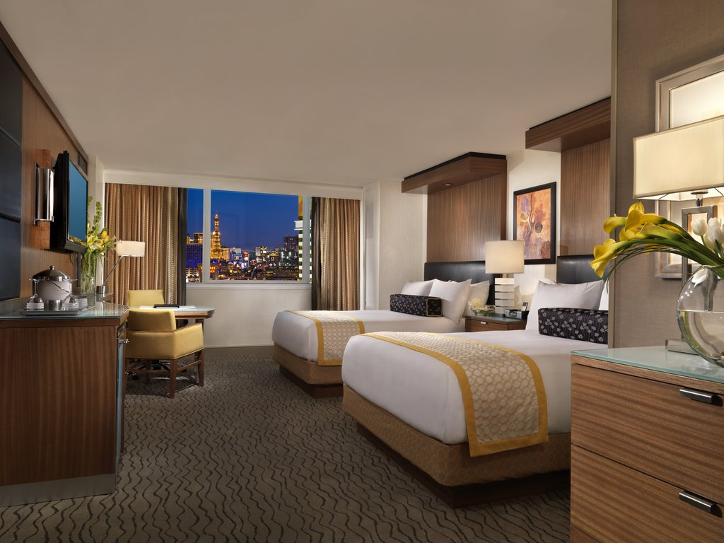 The Mirage Hotel and Casino - Resort Queen Room <br/>Image from Leonardo