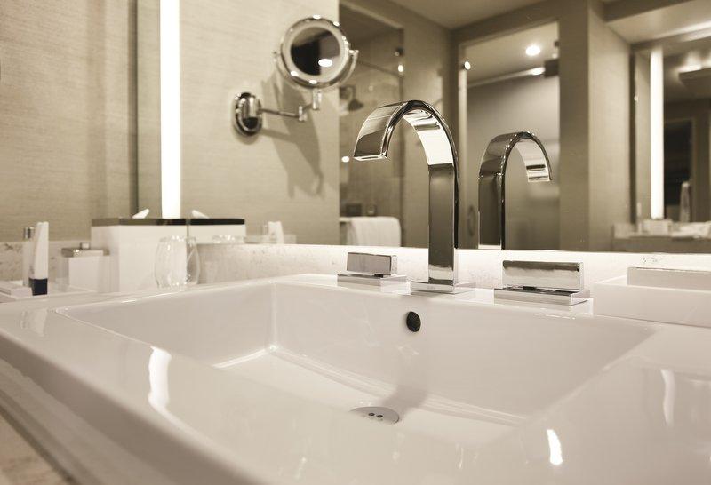 Aria Resort and Casino - Penthouse Bathroom Sink <br/>Image from Leonardo