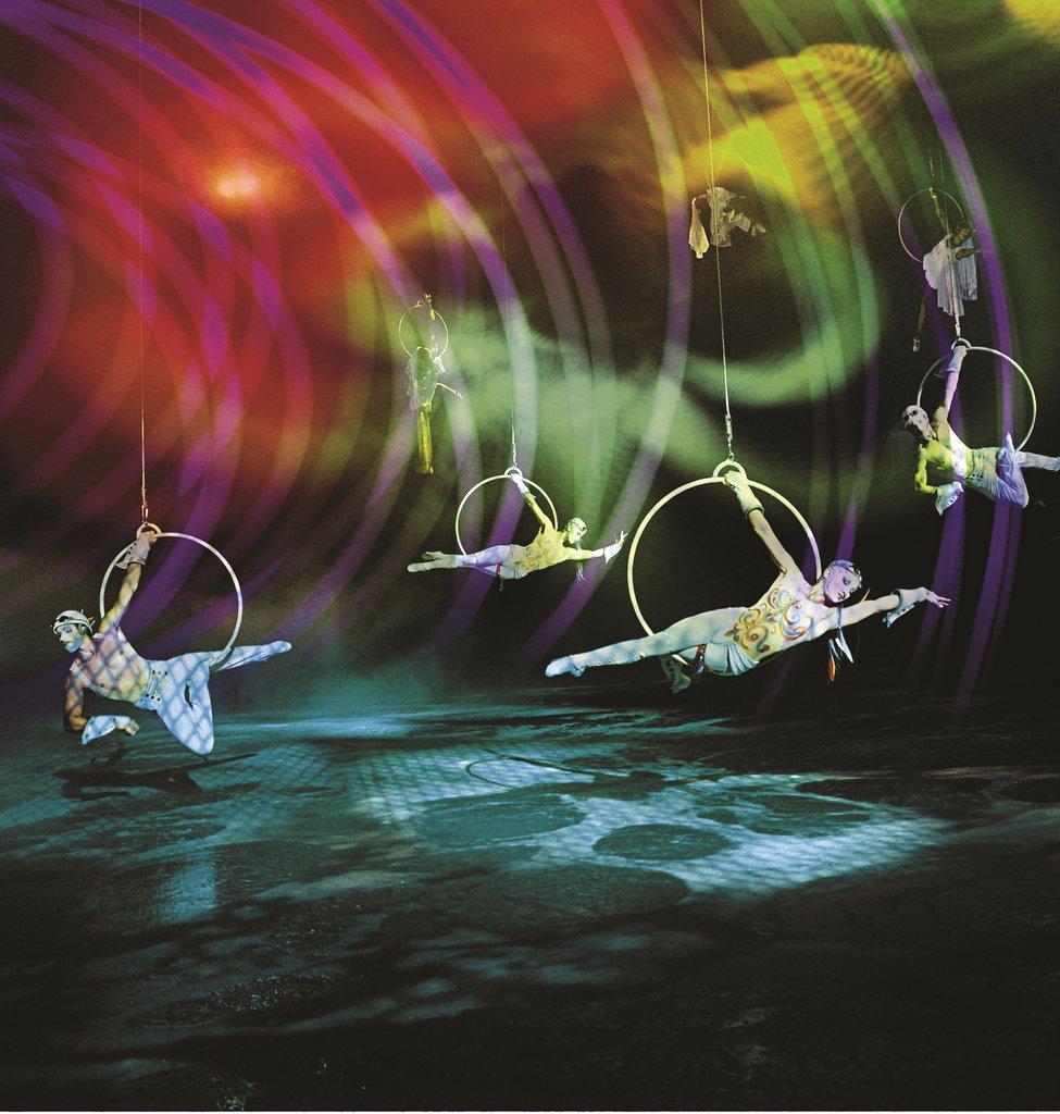 Bellagio - O By Cirque Du Soleil <br/>Image from Leonardo
