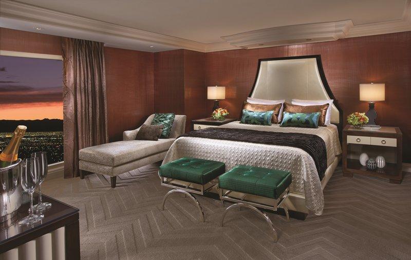 Bellagio-Penthouse Suite Bedroom<br/>Image from Leonardo