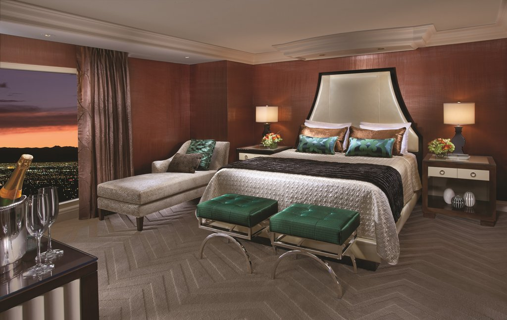 Bellagio - Penthouse Suite Bedroom <br/>Image from Leonardo