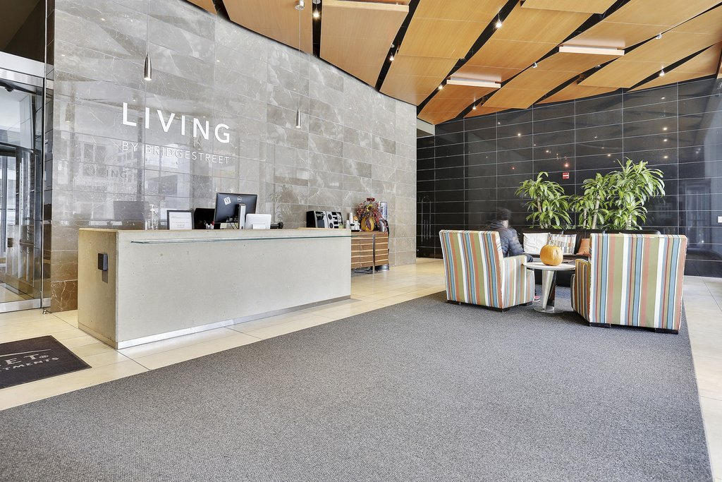 State And Grand Apartments-Amenity State And Grand Chicago Lobby VA<br/>Image from Leonardo