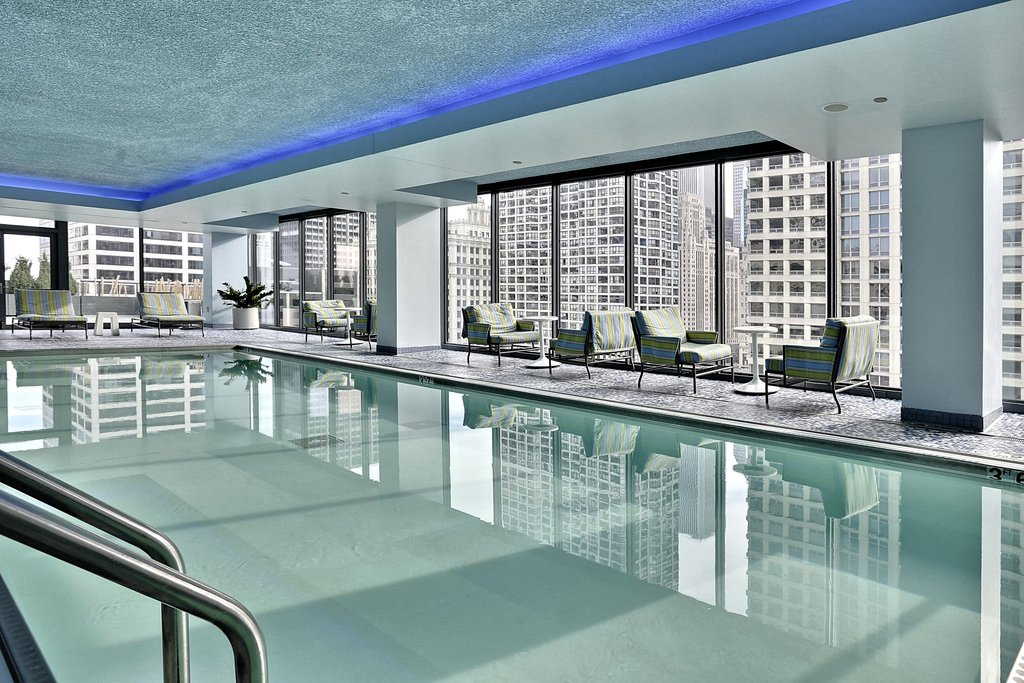 State And Grand Apartments-Amenity State And Grand Chicago Pool VA<br/>Image from Leonardo
