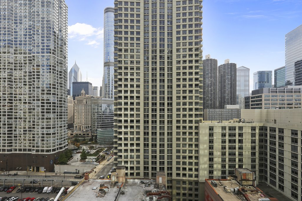 State And Grand Apartments-Roof View<br/>Image from Leonardo