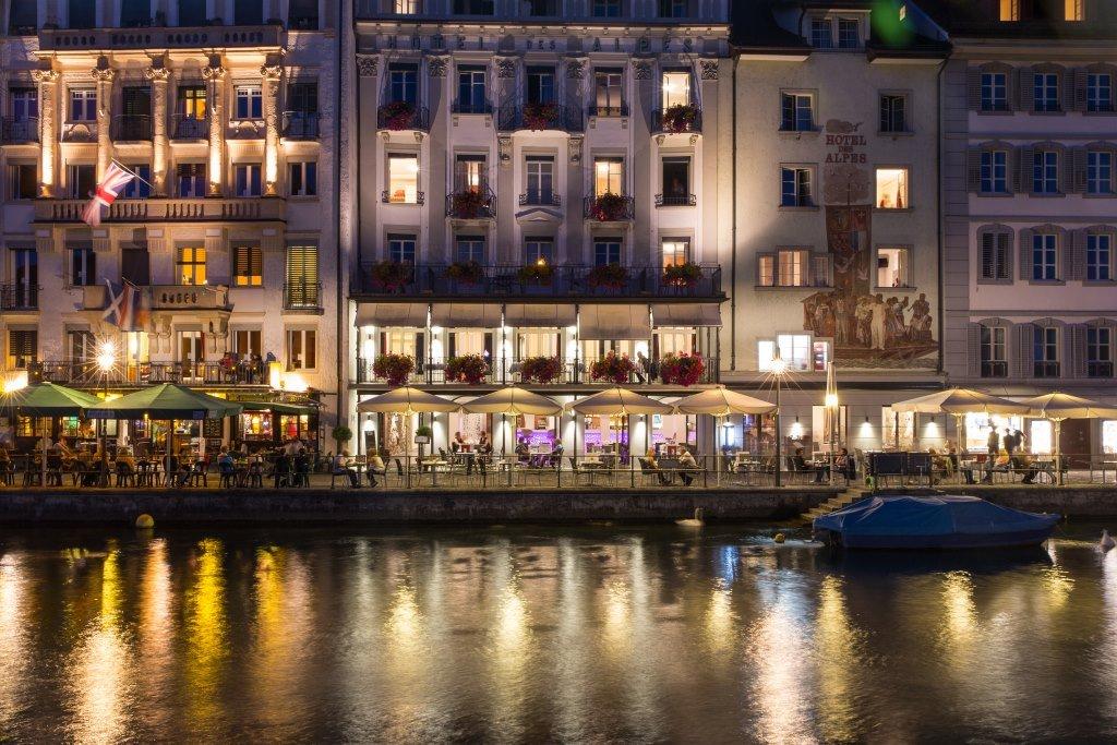 Hotel Des Alpes-Exterior<br/>Image from Leonardo