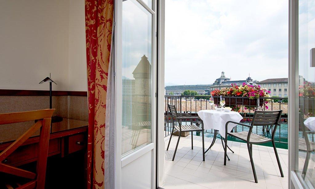 Hotel Des Alpes-Room with Balcony<br/>Image from Leonardo