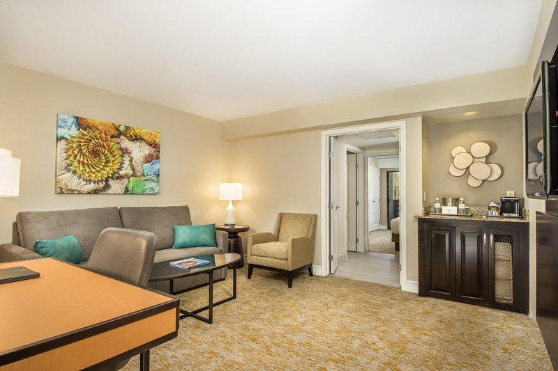 Pointe Hilton Squaw Peak Resort - Agave Suite Living Area <br/>Image from Leonardo