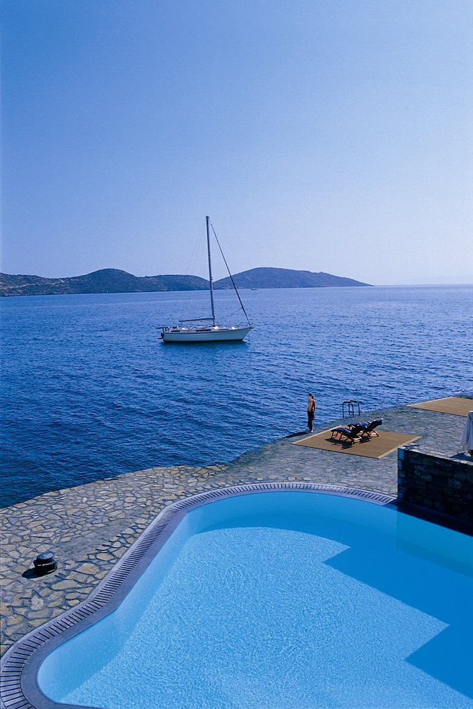 Elounda Bay Palace-The Presidential Suite Pool<br/>Image from Leonardo