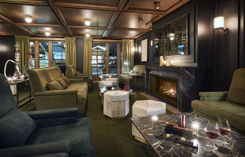 Mercure Courchevel Hotel-Cigar Lounge<br/>Image from Leonardo
