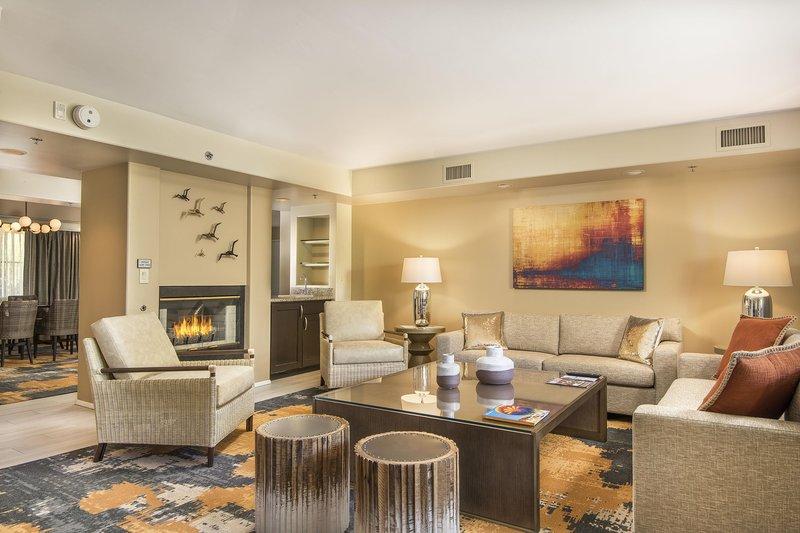 Pointe Hilton Squaw Peak Resort - Presidential Suite Living Room <br/>Image from Leonardo