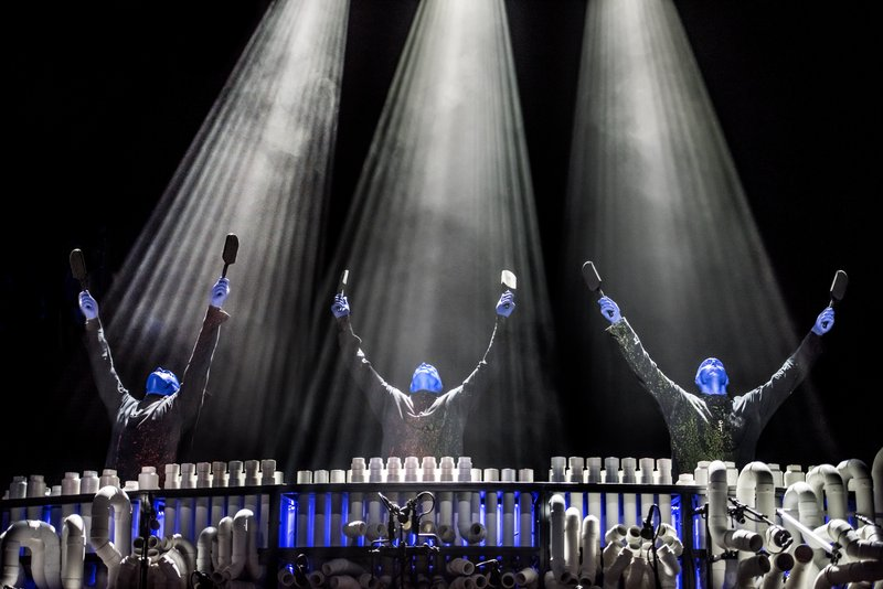 Luxor Resort and Casino - Blue Man Group <br/>Image from Leonardo
