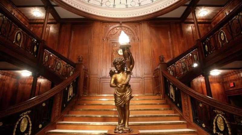 Luxor Resort and Casino-Titanic Grand Staircase<br/>Image from Leonardo