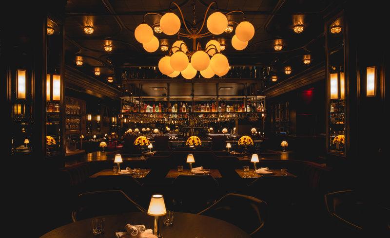 Park MGM Las Vegas - Bavette's Steakhouse & Bar Interior <br/>Image from Leonardo