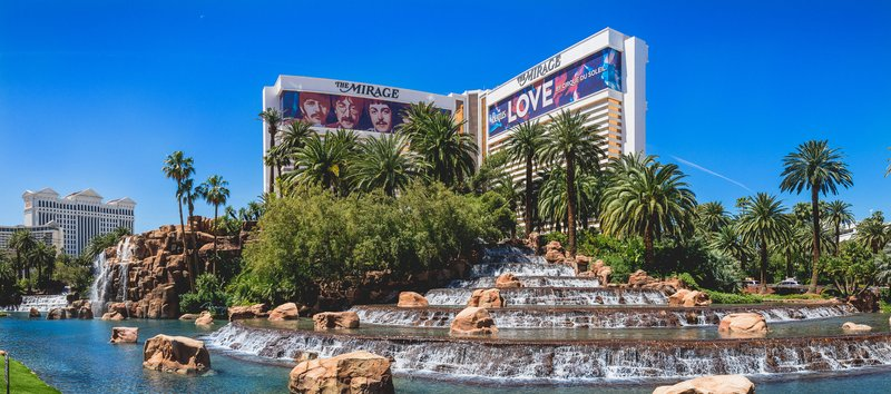 The Mirage Hotel and Casino - Exterior Daytime <br/>Image from Leonardo