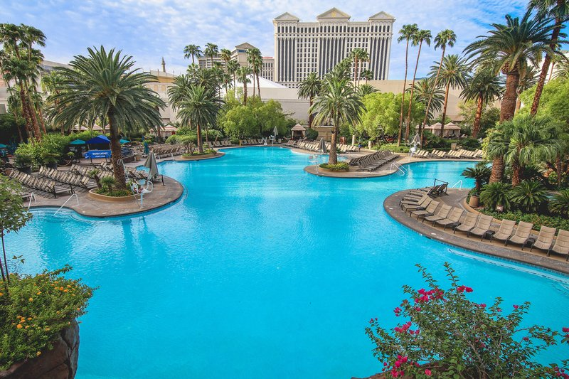 The Mirage Hotel and Casino - Pool <br/>Image from Leonardo