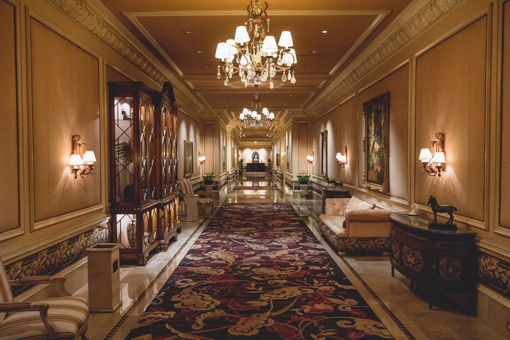 The Mirage Hotel and Casino - Villas Hallway <br/>Image from Leonardo