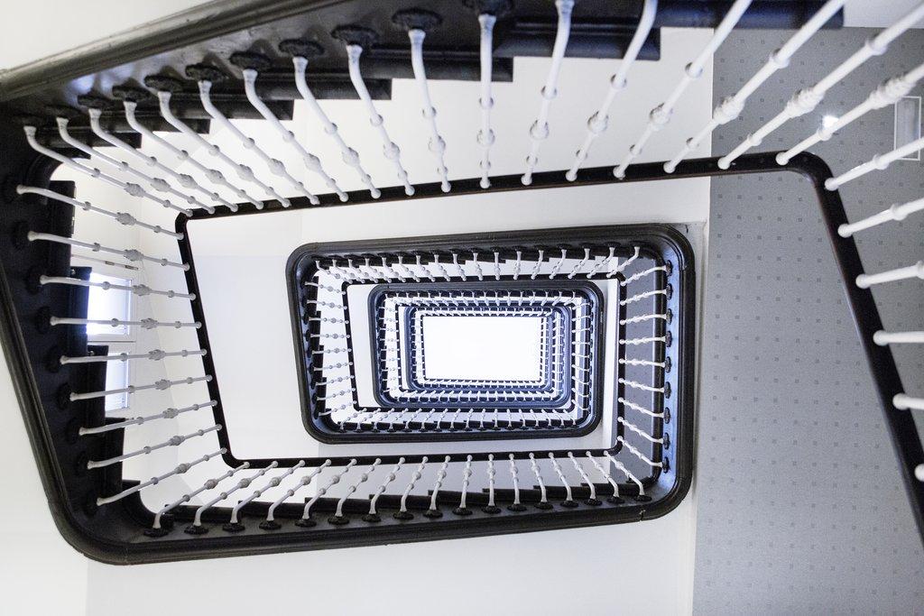 Hotel Hospes Puerta De Alcala-Staircase<br/>Image from Leonardo