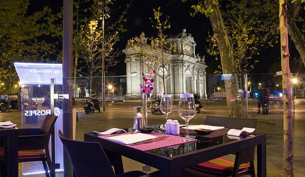 Hotel Hospes Puerta De Alcala-Restaurant Outoor Area<br/>Image from Leonardo