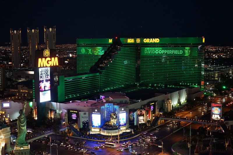 MGM Grand Hotel & Casino-MGM Grand Exterior<br/>Image from Leonardo
