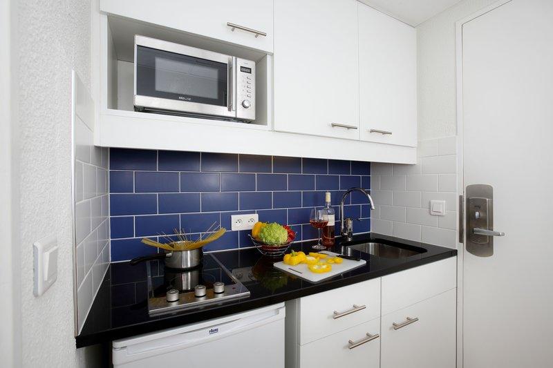 Citadines Croisette-Kitchen Of Studio Apartment<br/>Image from Leonardo