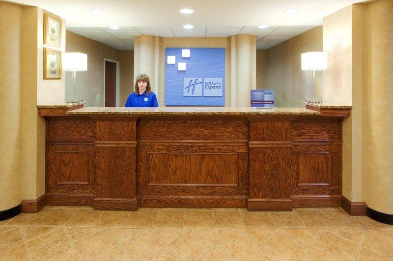 Holiday Inn Express Hanover-Front Desk<br/>Image from Leonardo