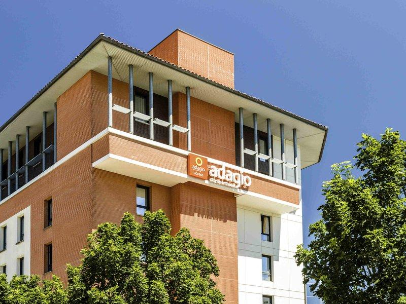Aparthotel Adagio access Toulouse Jolimont-Exterior<br/>Image from Leonardo