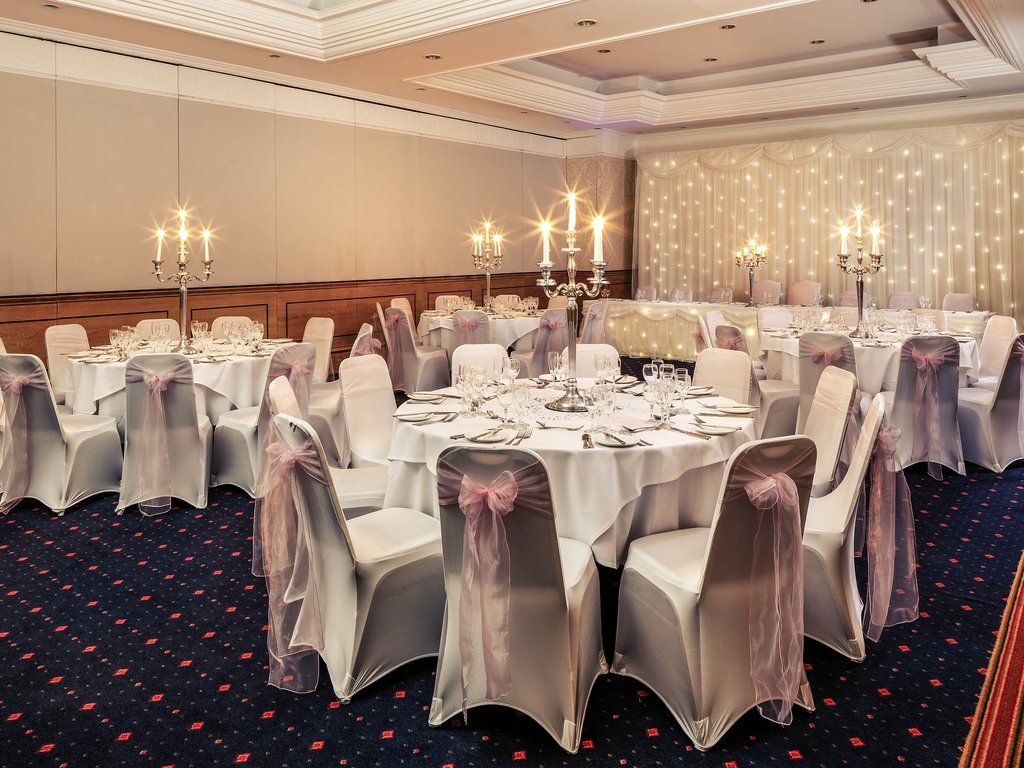Mercure York Fairfield Manor-Wedding<br/>Image from Leonardo
