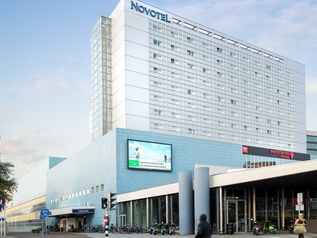 Novotel Den Haag World Forum-Exterior<br/>Image from Leonardo