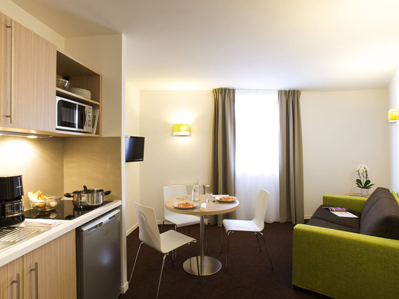 Aparthotel Adagio access Le Havre Les Docks-Guest Room<br/>Image from Leonardo