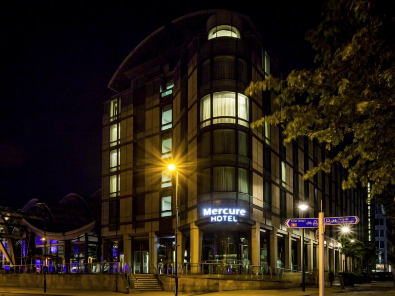 Mercure Sheffield Parkway Hotel-Exterior<br/>Image from Leonardo