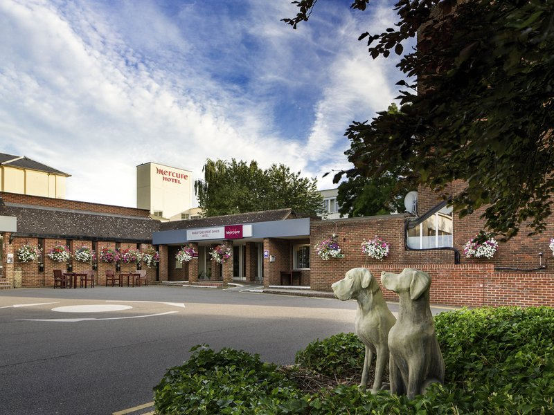 Mercure Maidstone Great Danes Hotel-Exterior<br/>Image from Leonardo