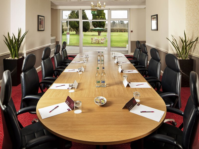 Mercure Maidstone Great Danes Hotel-Meeting Room<br/>Image from Leonardo