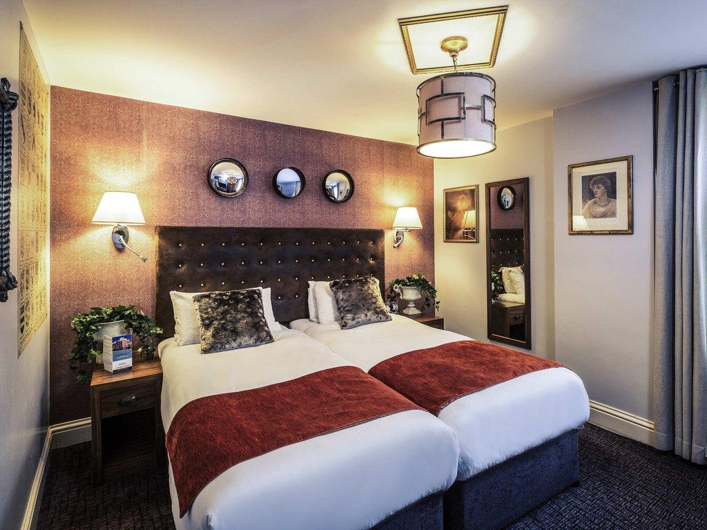 Mercure Nottingham City Centre-Guest Room<br/>Image from Leonardo