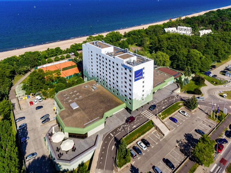 Novotel Gdansk Marina-Exterior<br/>Image from Leonardo