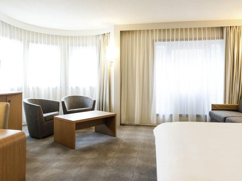 Novotel Ghent Centrum-Guest Room<br/>Image from Leonardo