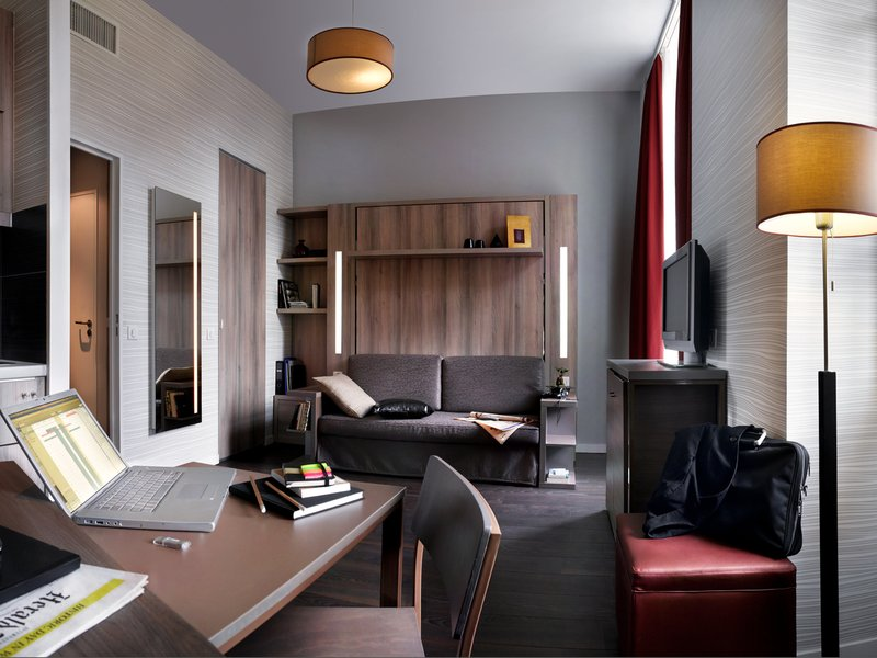 Adagio Strasbourg Place Kleber-Guest Room<br/>Image from Leonardo