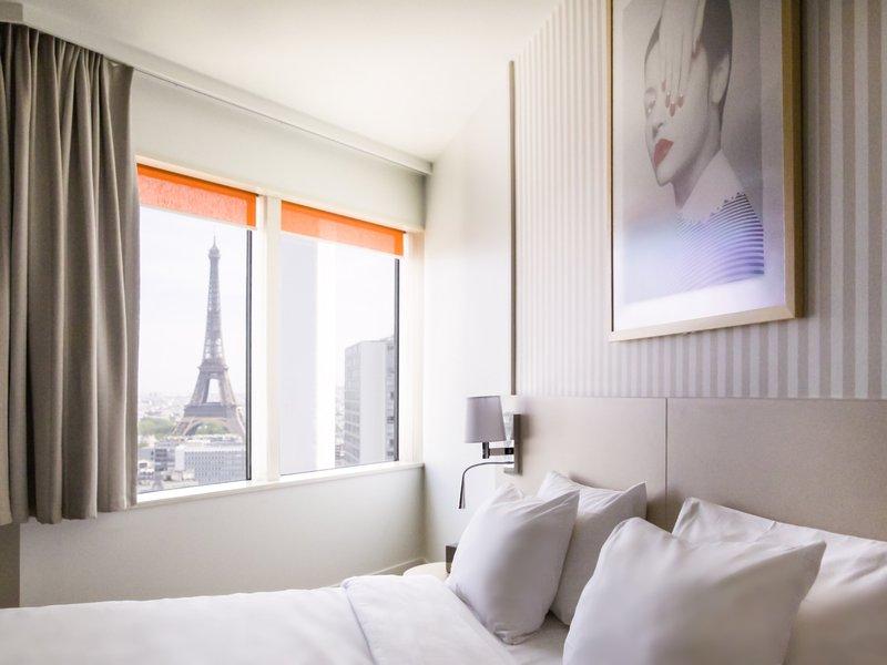 Aparthotel Adagio Paris Centre Eiffel Tower-Guest Room<br/>Image from Leonardo
