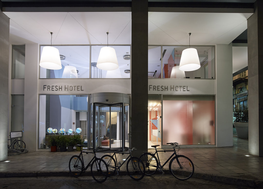 Fresh Hotel - Exterior Entrance <br/>Image from Leonardo