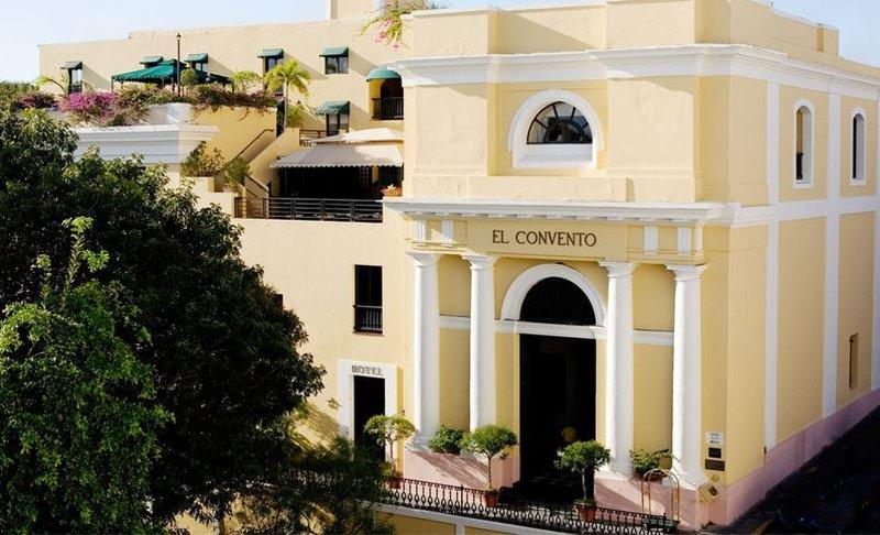Hotel El Convento - Hotel El Convento Old San Juan Front <br/>Image from Leonardo
