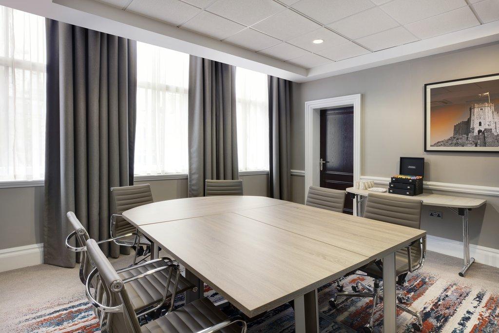 Jurys Inn Cardiff-Conway Suite Boardroom<br/>Image from Leonardo
