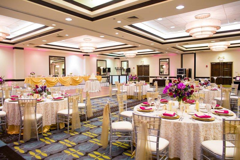 Crowne Plaza St. Louis Airport-Gateway Ballroom Wedding<br/>Image from Leonardo